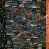 Boston Blue Ledgestone Walls