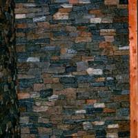 Boston Blue Ledgestone Walls