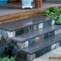 Steps using Boston Blend created by MW Masonry experienced masons
