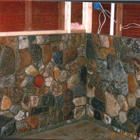 Stonework wall - crafted by experienced masons in Maine
