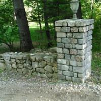 Corner Stone Wall