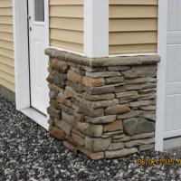 Custom Veneer Facade on Residential Home