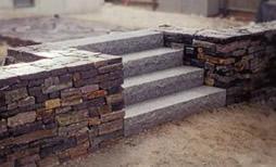 MW Masonry contractors build steps
