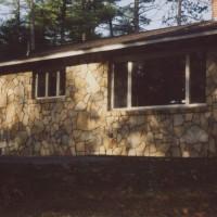 Timeless fieldstone home exterior
