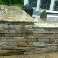 MW Masonry Masons crafted this Outdoor Kitchen
