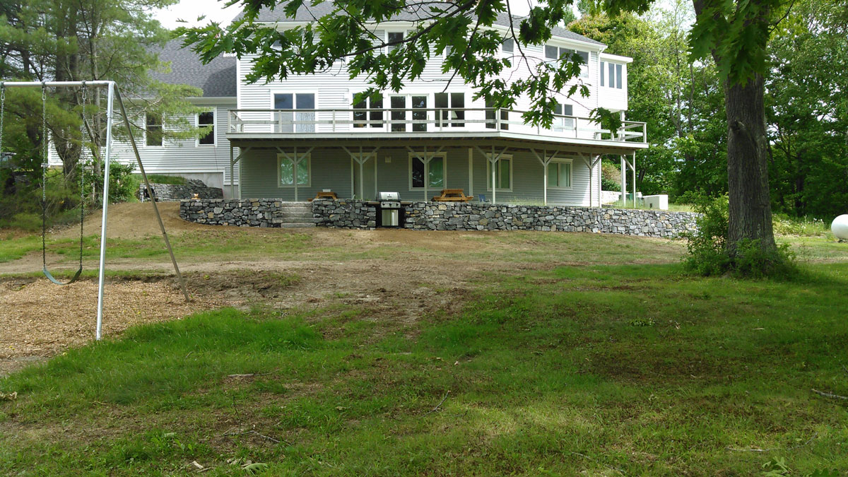 gallery of retaining and stone walls and waterfront restoration