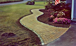 Stone and Brick Walkways