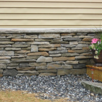 Stone Veneer installed by MW Masonry